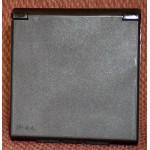 Sisäänottorasia 230V, musta, CEE